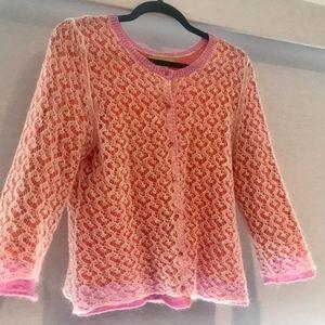 Sigrid Olsen cardigan sweater